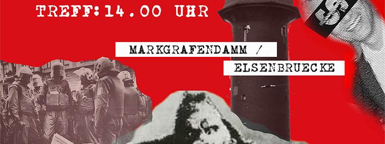 Plakat Rummelsburger Bucht Demo