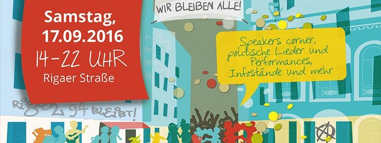 Rigaer Strassenfest Sept 2016