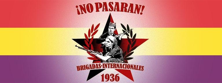Spanienkämpfer_innen 1936 Banner