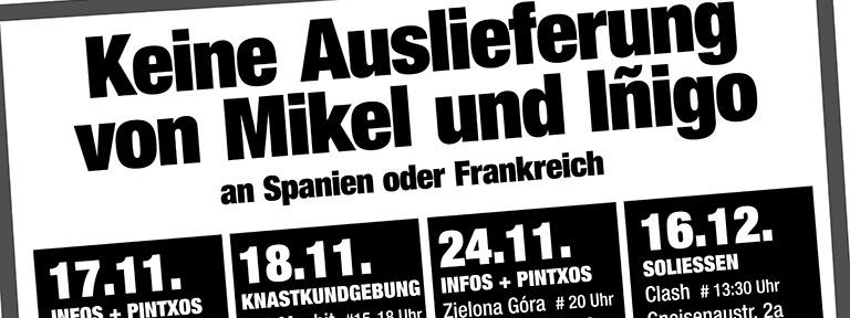 Freiheit Mikel Inigo Berlin