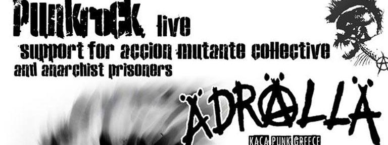 Punkstyle Plakat Soli griechische Gefangene