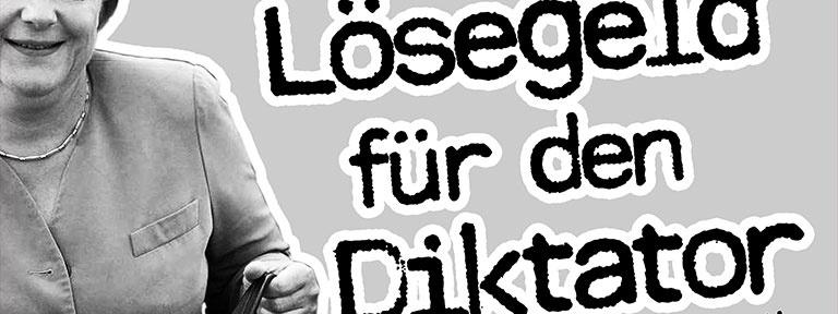 Banner - Kein Lösegeld für den Diktator