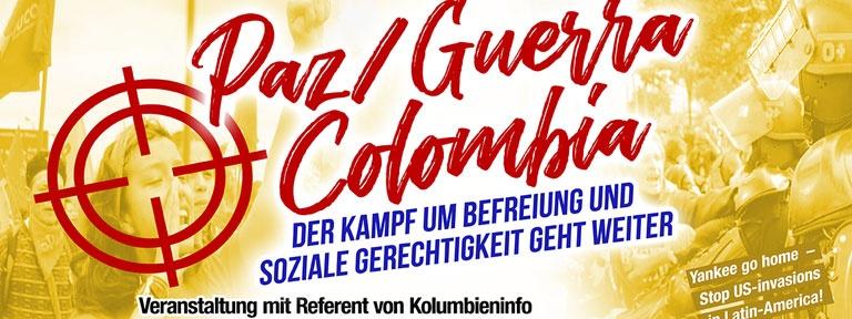 Poster Veranstaltung Kolumbieninfo