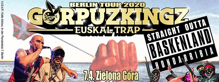 plakat gorpuzkingz berlin tour