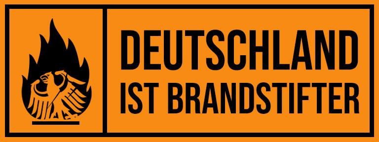 Weblink to Deutschland ist Brandstifter Homepage