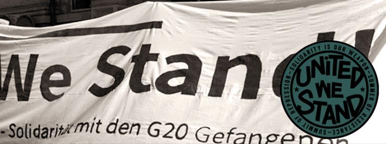 United we stand - mit Logo