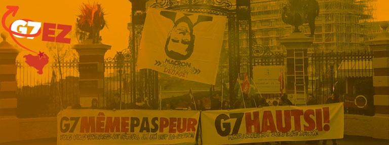 Biarritz Anti G7 - Macron kanpora!