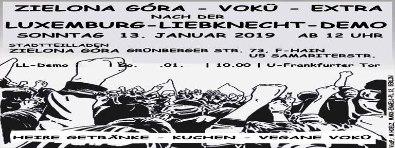 Webflyer Vokü-Extra im Zielona Góra
