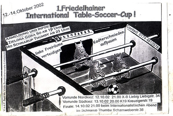 erstes friedelhainer international table soccer cup