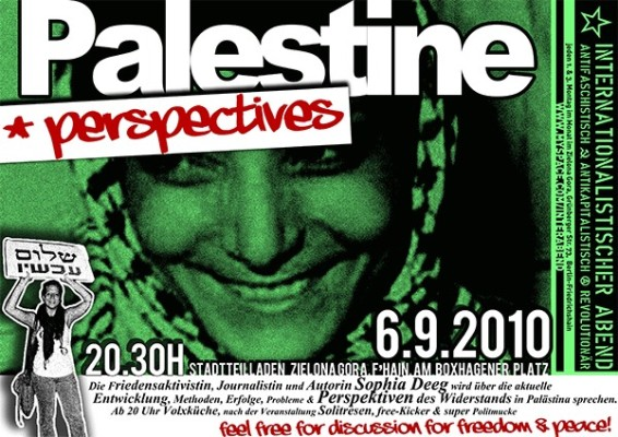 palestine perspectives