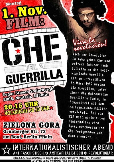 che guerrilla soderbergh film color