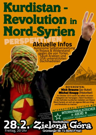 rojava syrien poster web color