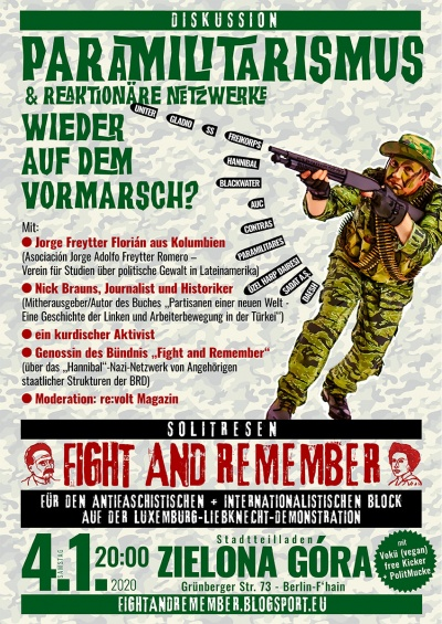 LL Mobi Fight and Remember gegen Paramilitarismus color