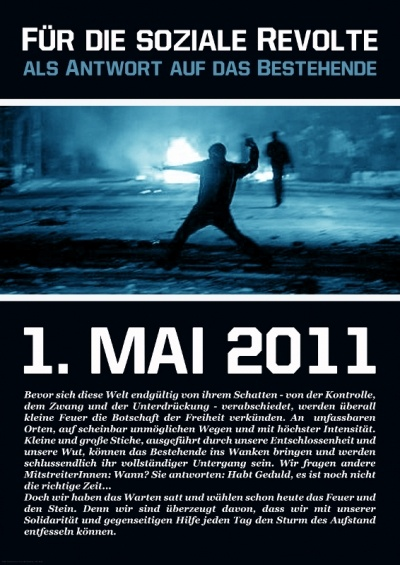 2011 Anarchistisches Plakat